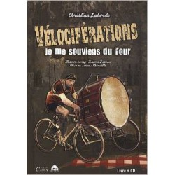 Vélociférations a show by Christian Laborde CD Book
