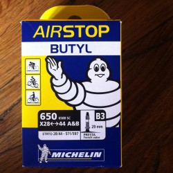 """Chambre à air Michelin 26""""- 650X28-44"""