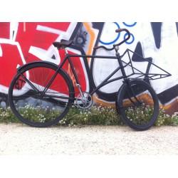 Bi-porteur, ancien vélo de...