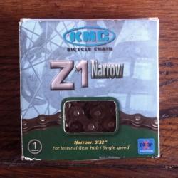 Chaîne KMC Z1 Narrow 3/32