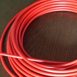 Red brake outer cable 2m