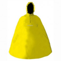 Poncho cycliste jaune Chiba