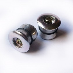 Aluminium bar end