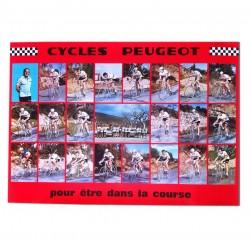 Affiche de l'équipe Peugeot...