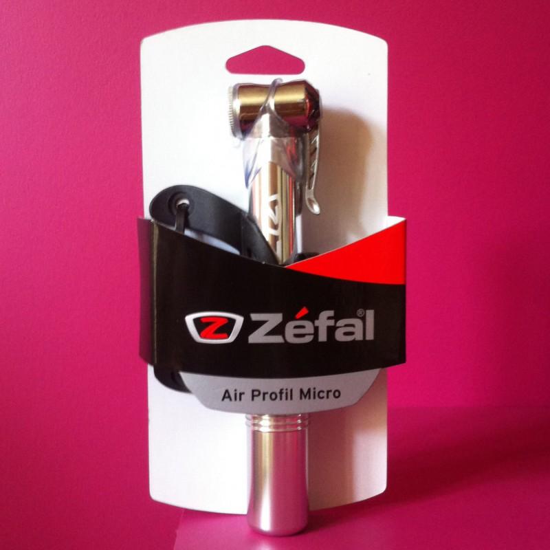 Mini pompe Zéfal alu
